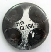 The Clash - 'Speakers' 32mm Badge